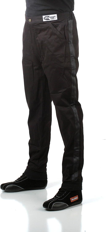 RaceQuip 112005 112 Series Large Black SFI 3.2A//1 Single Layer Driving Pant
