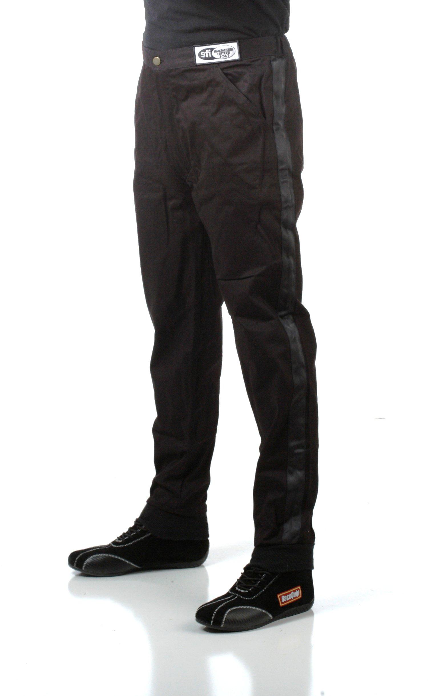 RaceQuip 112009 112 Series XXXX-Large Black SFI 3.2A/1 Single Layer Driving Pant