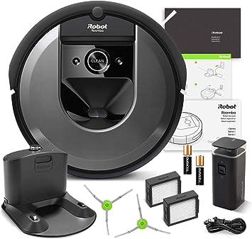 Amazon.com: iRobot Roomba i7 Robot Aspirador Wi-Fi ...