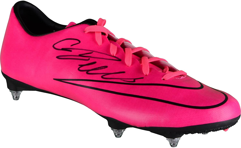f0deeb6f5df ... ronaldo new cleats Cristiano Ronaldo Juventus Autographed Pink ...