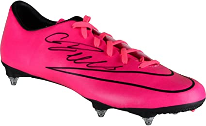 b001bfb3474 Cristiano Ronaldo Juventus Autographed Pink Nike Cleat - Fanatics ...