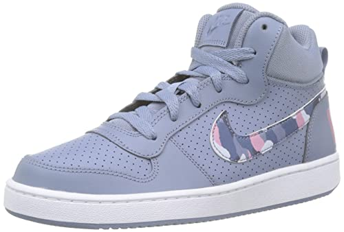 nike court borough mid gs zapatillas de baloncesto unisex bebé