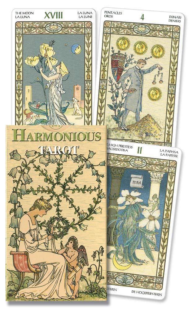 Harmonious Mini tarot (English and Spanish Edition): Lo