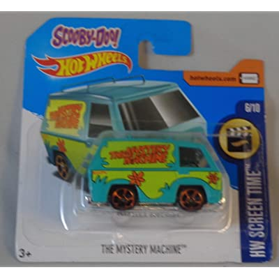Hot Wheels, 2020 HW Screen Time The Mystery Machine 28/365: Toys & Games