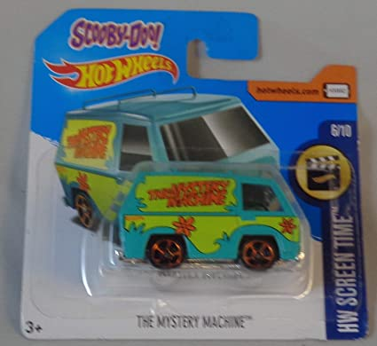 Amazon.com: Hot Wheels, 2017 HW Screen Time, Scooby-Doo ...