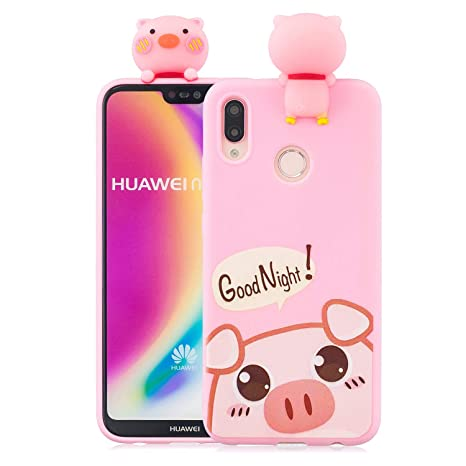 Amazon.com: Ostop Soft Liquid Silicone Case for Huawei P20 ...
