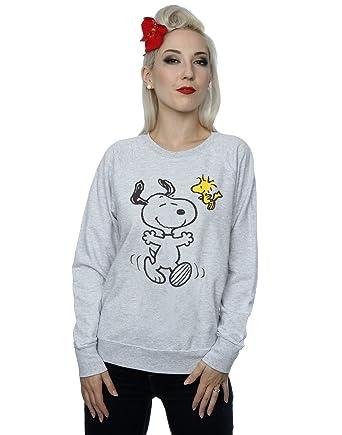 Woodstock Shirt Sweat Big Xx Large Peanuts Heather And Snoopy Femme wXnkPN8O0
