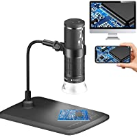 Wireless Digital Microscope HD 1080P Handheld WiFi USB Microscope Camera 50x to 1000x Magnification Coin PCB Insect…