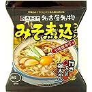 寿がきや みそ煮込うどん 91g×10食入 (1ケース10食)
