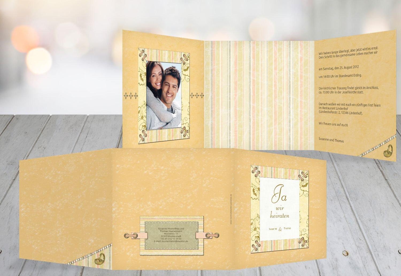 Kartenparadies Hochzeitskarte Hochzeit Einladung Bund für's Leben, hochwertige Einladung zur Heirat inklusive Umschläge   10 Karten - (Format  145x145 mm) Farbe  PastellHellTürkis B01MTB8MGV   Genialität    Hochwertige Produkte    Um Sowo