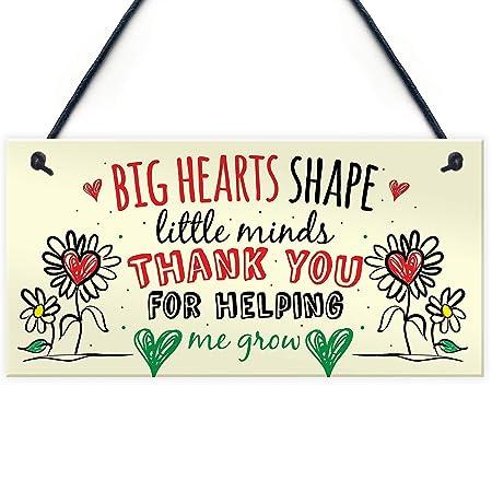 Big Hearts Shape Letrero de Placa de Madera Carteles de ...
