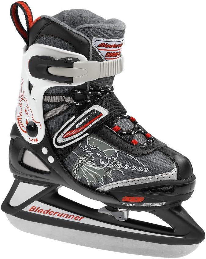 Bladerunner Rollerblade Adjustable Phaser Ice B Junior 4 Size Ice Skate
