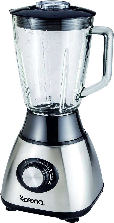 Crena 8734 Batidora de vaso, 600 W, 8 velocidades, 1.5 litros ...