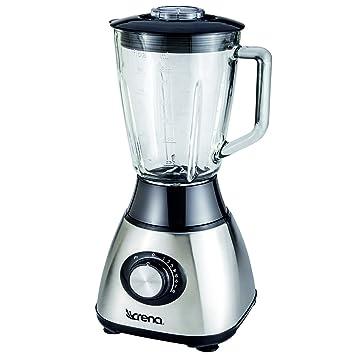 Crena 8734 Batidora de Vaso, 600 W, 8 velocidades, 1.5 litros, Vidrio, Metal: Amazon.es: Hogar