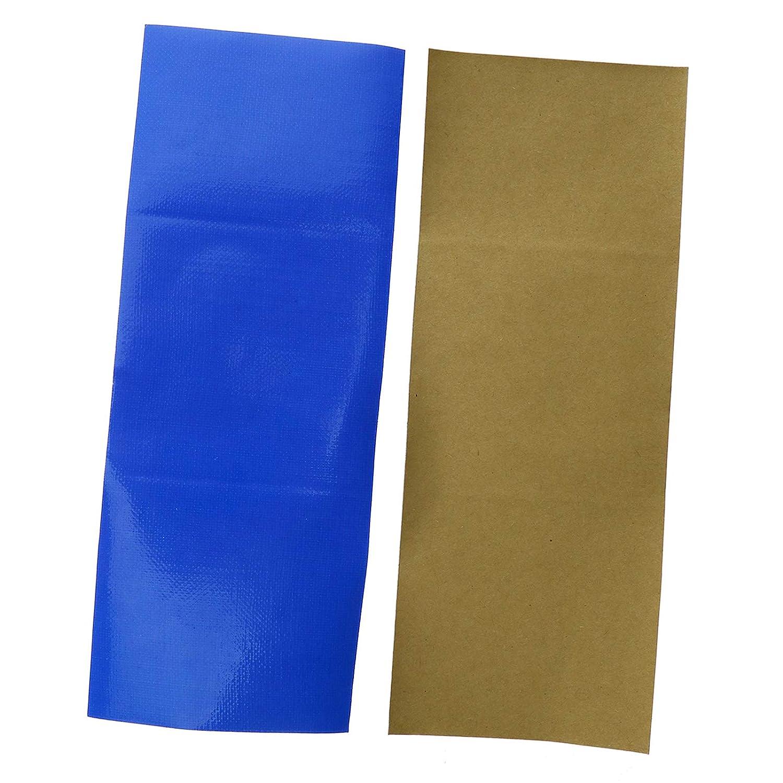 OTOTEC 10x Bleu Bande de R/éparation /Étanche Patch Bandes Toile Tente Auvent Butin Voile Cerf-Volant