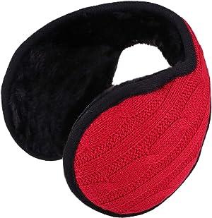 Unisex Sherpa Fleece Lined Winter Earmuffs Ear Warmers