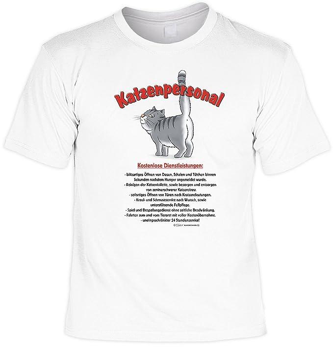Veri Gato Ver Montantes Camiseta de Gato Personal Juego Gatos y Camiseta de Urkunde en Blanco: Blanco Weiß: Amazon.es: Ropa y accesorios
