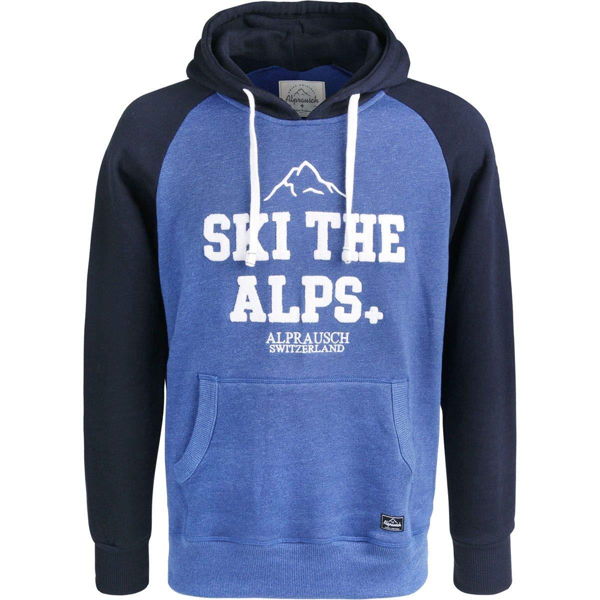 Alprausch Herren ski The alps Hoodie