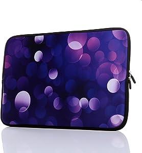 "11.6-Inch to 12.5-Inch Neoprene Laptop Sleeve Case with Hidden Handle for 11 11.6 12 12.2 12.5"" Inch Men Women MacBook/Tablet/Netbook (11.6-12.5 Inch, Classic Blue)"