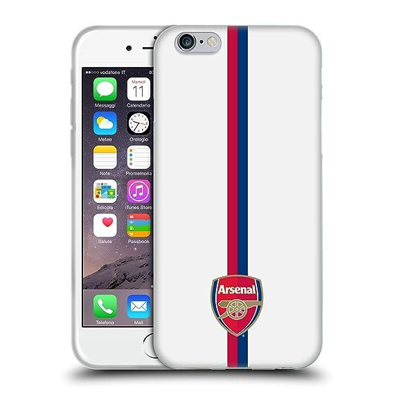Calendario Arsenal.Amazon Com Official Arsenal Fc Stripes 1 2016 17 Crest Soft