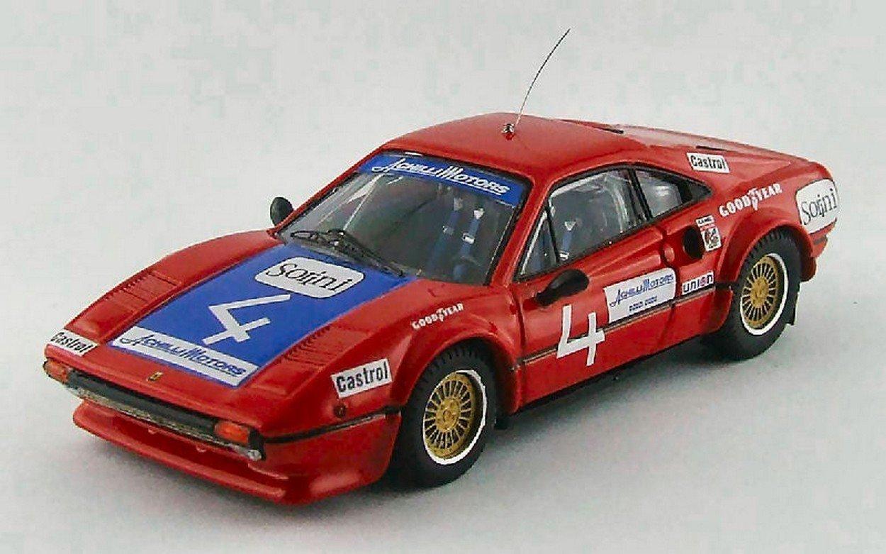 BEST BEST BEST Model BT9543 Ferrari 308 GTB Coupe N.4 59th Daytona 1978 1:43 DIE CAST aa00c4