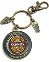 Guinness 2016 Collectors Edition - Pvc Spinner Keychain With Charm