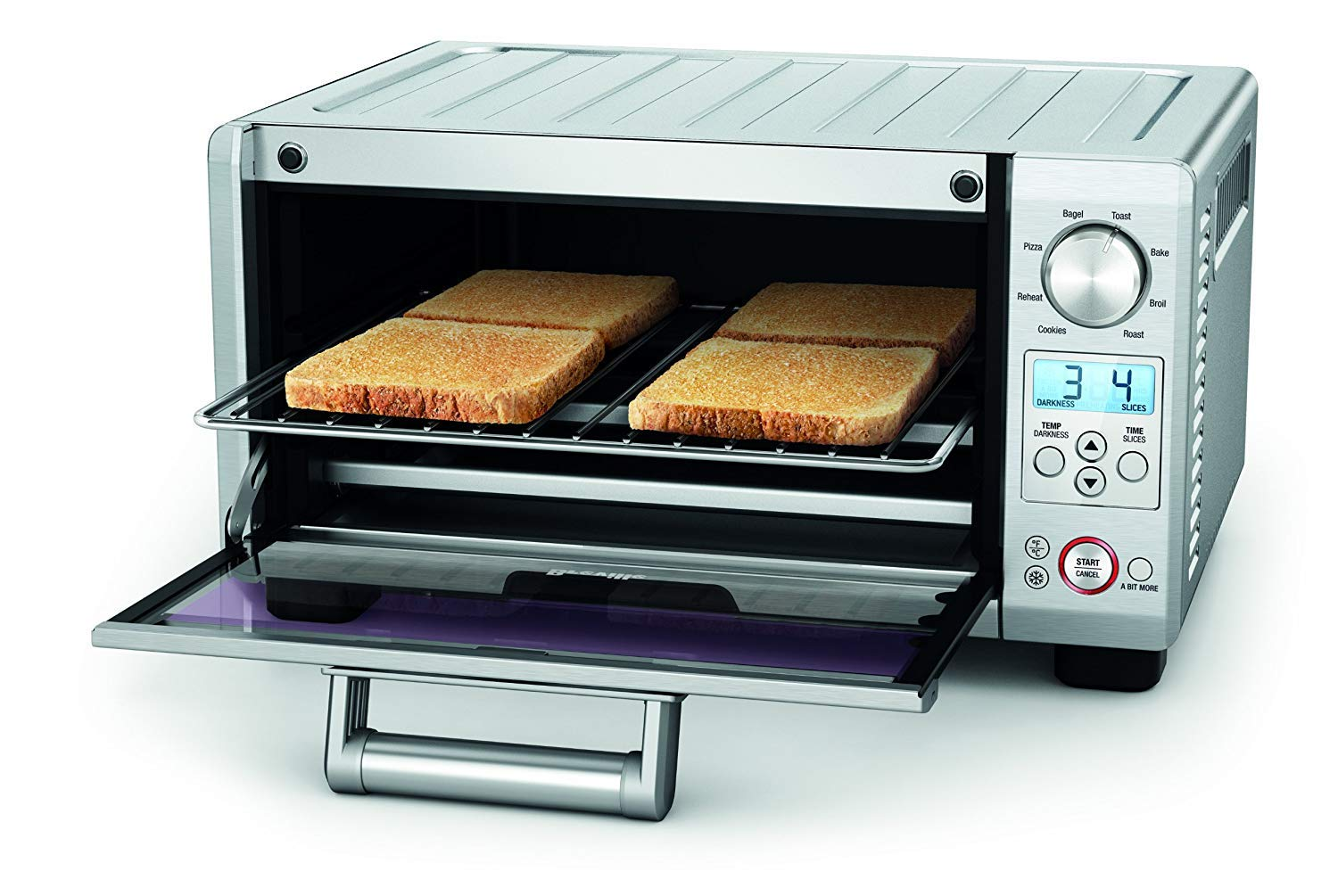Breville the Mini Smart Oven 1800-Watt Compact Toaster Oven - BOV450XL by Breville (Image #2)
