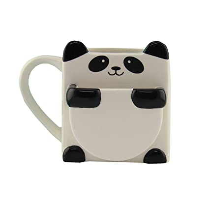 Panda Hug Mug with Cookie Pocket