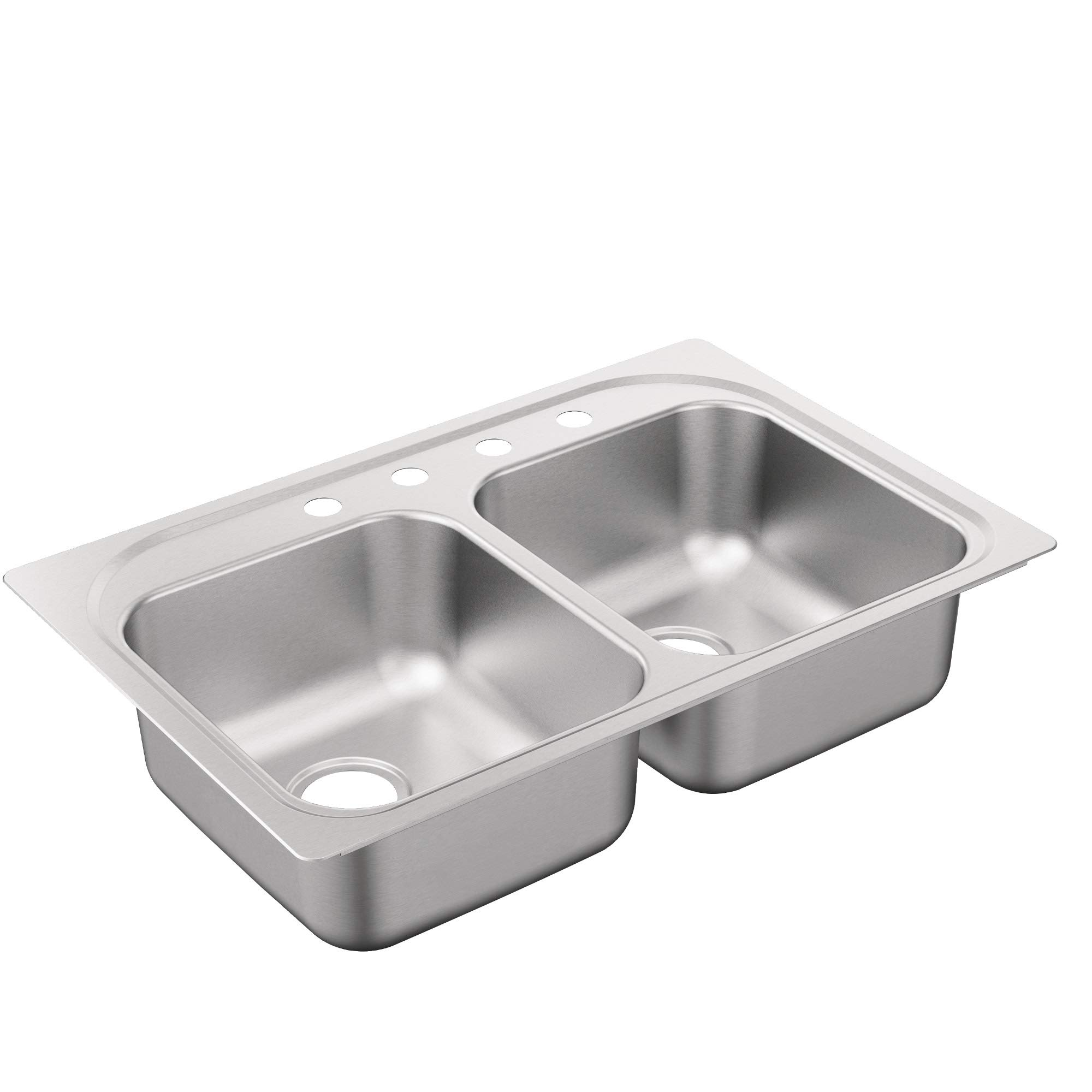 Moen G222134B 2200 Series Sink Brushed/Satin Stainless