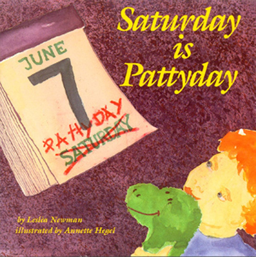 Image result for saturday is patty day leslea newman