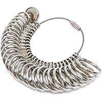 Yasumai Metal Ring Sizer FInger Guage Sizing Measuring Jewelry Tool Size 0-13 27 Piece