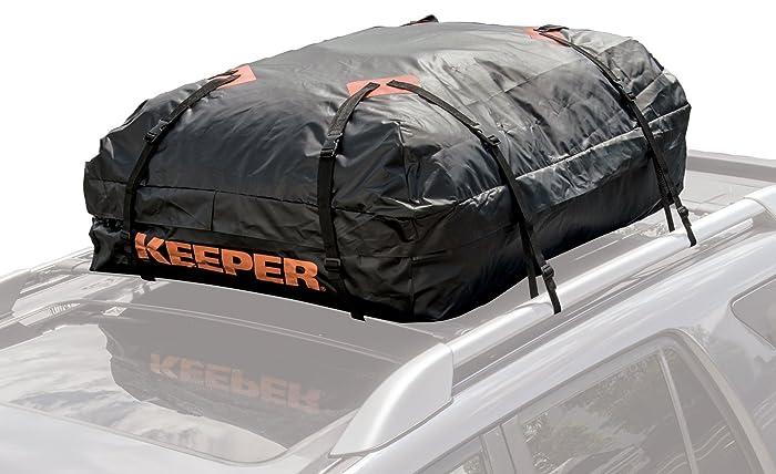 Keeper 07203 1 Waterproof Roof Top Cargo Bag (15 Cubic Feet)