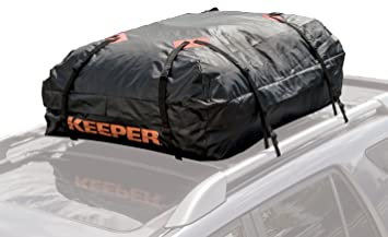 Keeper 07203 1 Waterproof Roof Top Cargo Bag 15 Cubic Feet