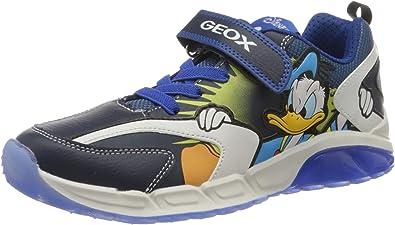 Embotellamiento Secretario incondicional  Geox J Spaziale Boy B, Sneaker Niños: Amazon.es: Zapatos y complementos