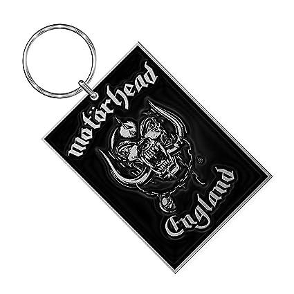 Motörhead de Metal Llavero England Key Ring 3,5 x 5,0 cm ...
