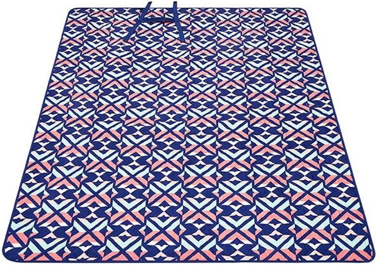 AILI 피크닉 매트 두꺼운 야외 방수 방수 방습 쿠션 접이식 방습 매트 비치 매트 파크 잔디 매트 (색상 : B 크기 : 200230CM)