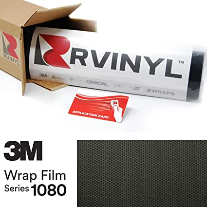 1 ft  x 20ft  Black Matte 3M  Vinyl Film Sheet Wrap 3M Great deal
