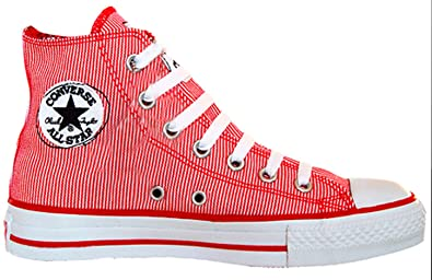 Original hohe Converse Chucks rot UK 7 high