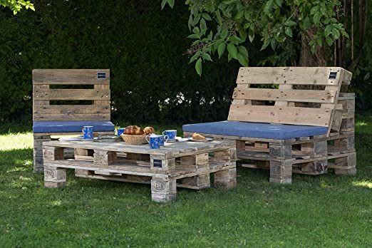 Palma palé Muebles Jardín Grupo de Asiento de alta calidad muebles Dimensiones...: Amazon.es: Jardín