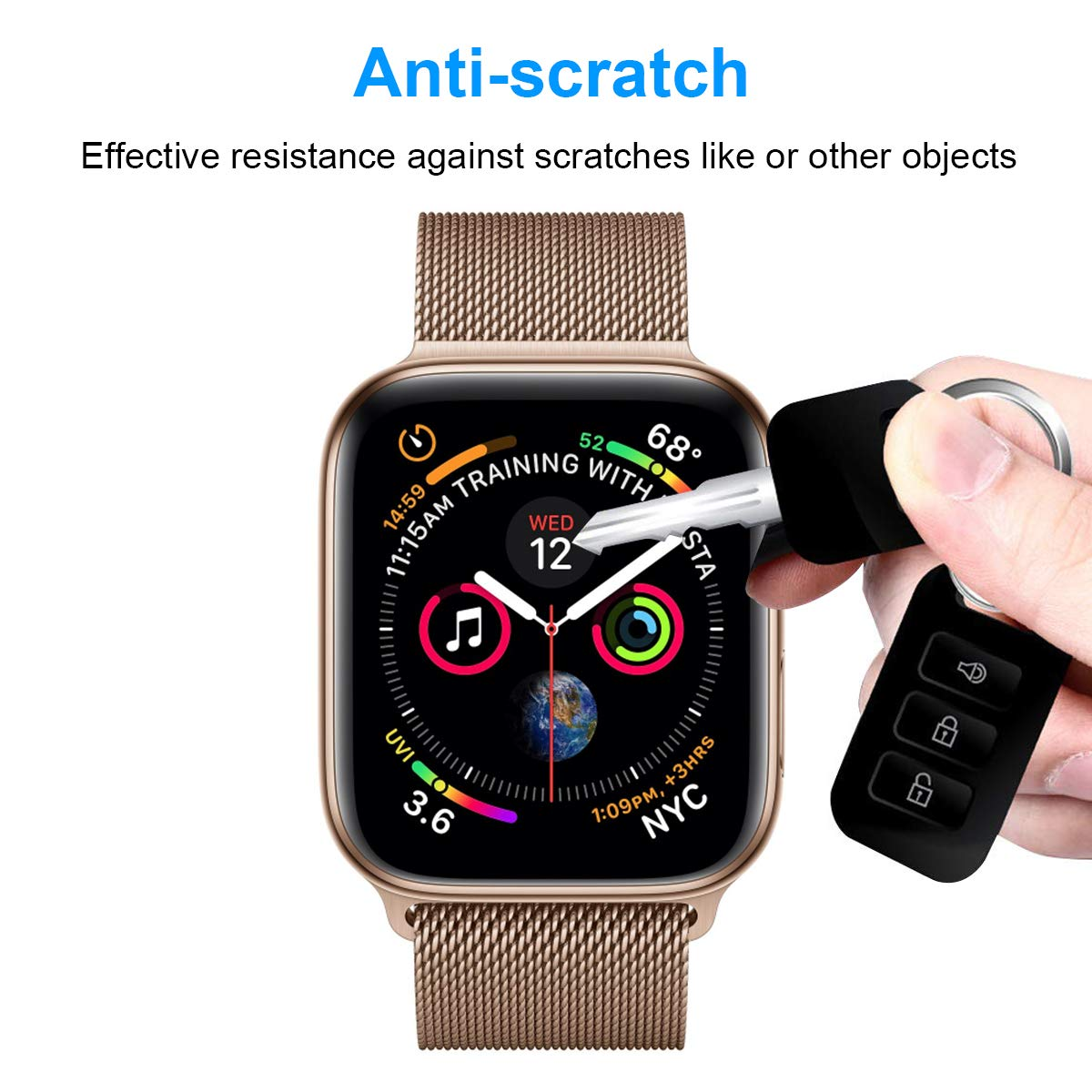 Amazon.com: Compatible with iWatch 44mm Screen Protector for ...