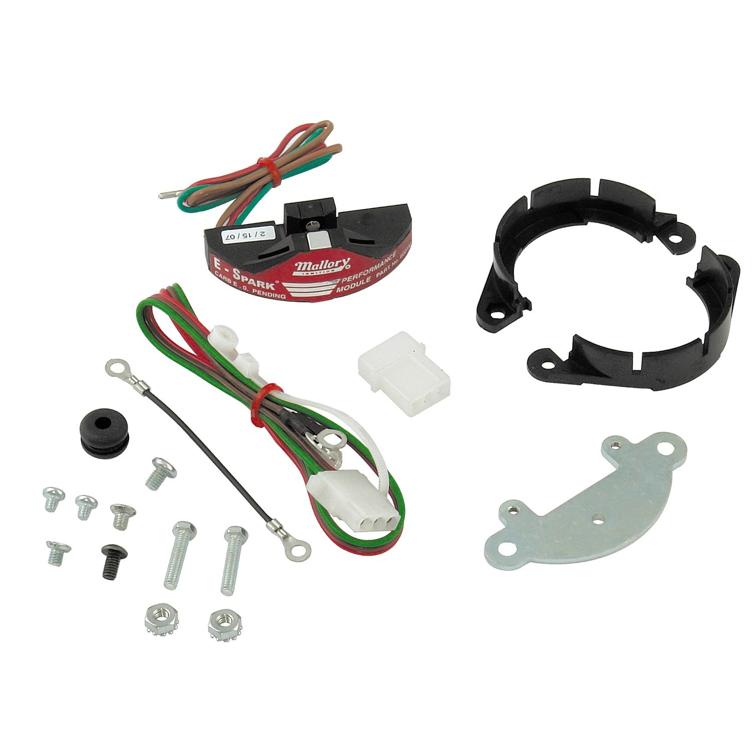 Mallory 61001m E Spark Conversion Kit For Distributor Wiring Diagram Ignition Kits Chevy Automotive