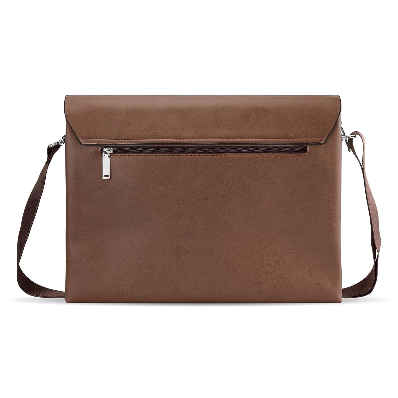 Bolso 14 Pulgadas Laptop Bag, MODAN Maletín De Piel Sintética Para Ordenadores Portátiles Apto También Para Tablets y Notebooks De Hasta 14