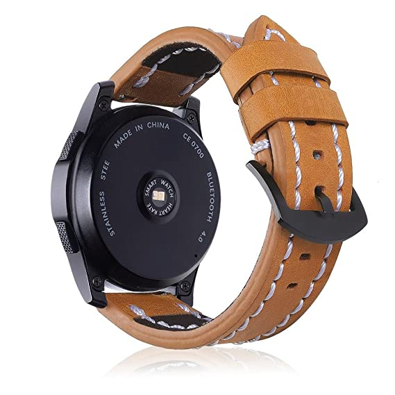 Amazon.com: Gear S3 Frontier/Classic Watch Band, 22mm ...