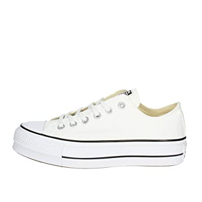 3d33dbfd6d94 Converse Women s Chuck Taylor All Star Lift Low-Top Sneakers  Amazon.co.uk   Shoes   Bags