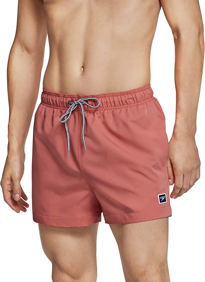 Colorful Waves Fit Mens Shorts Beach Swim Trunk Summer