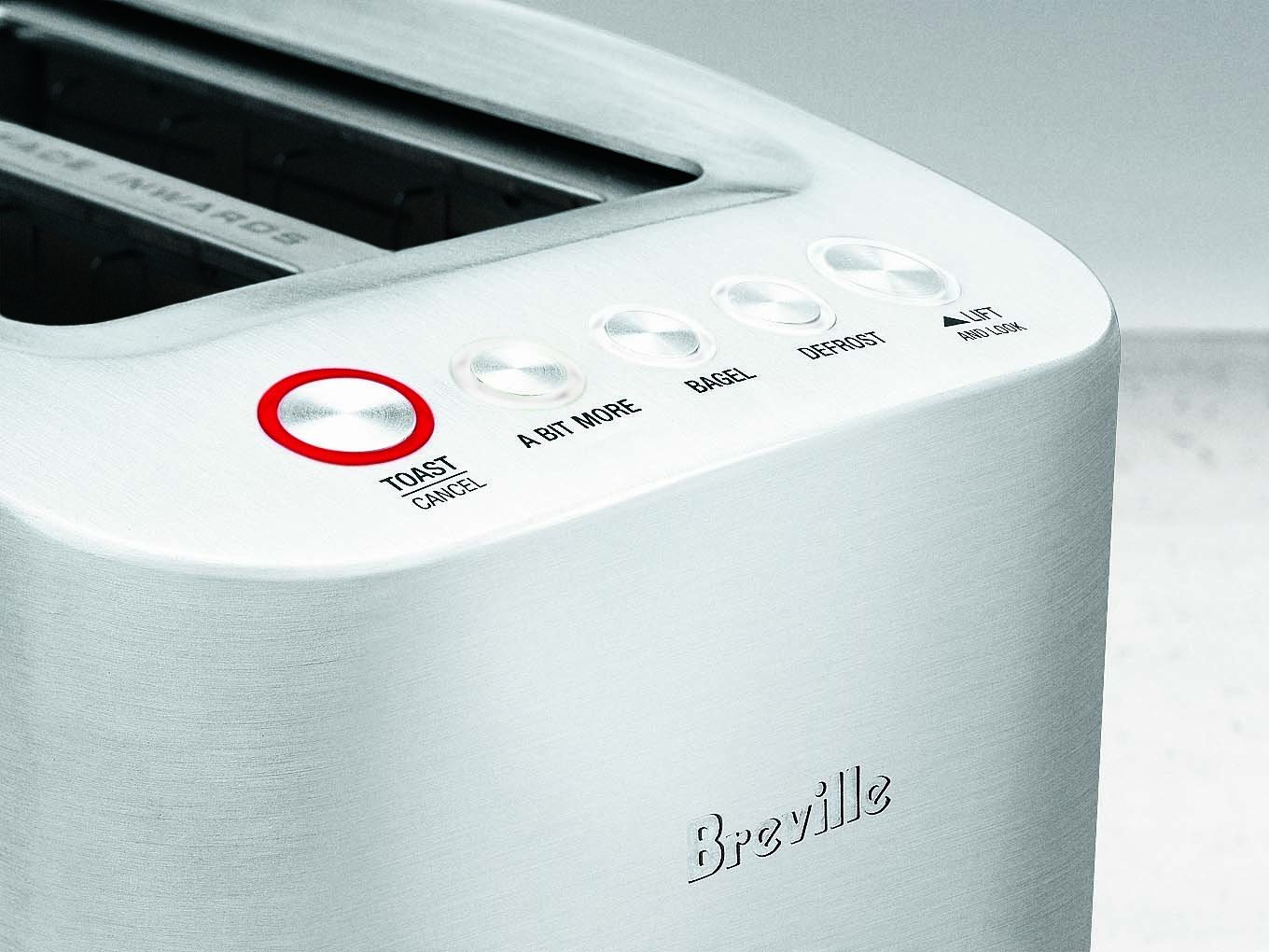 Amazon.com: Breville RM-BTA820XL Die-Cast 2-Slice Smart Toaster ...