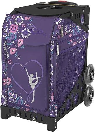 ZUCA Bag UNICORN2 Insert /& Purple Frame w//Flashing Wheels FREE SEAT CUSHION