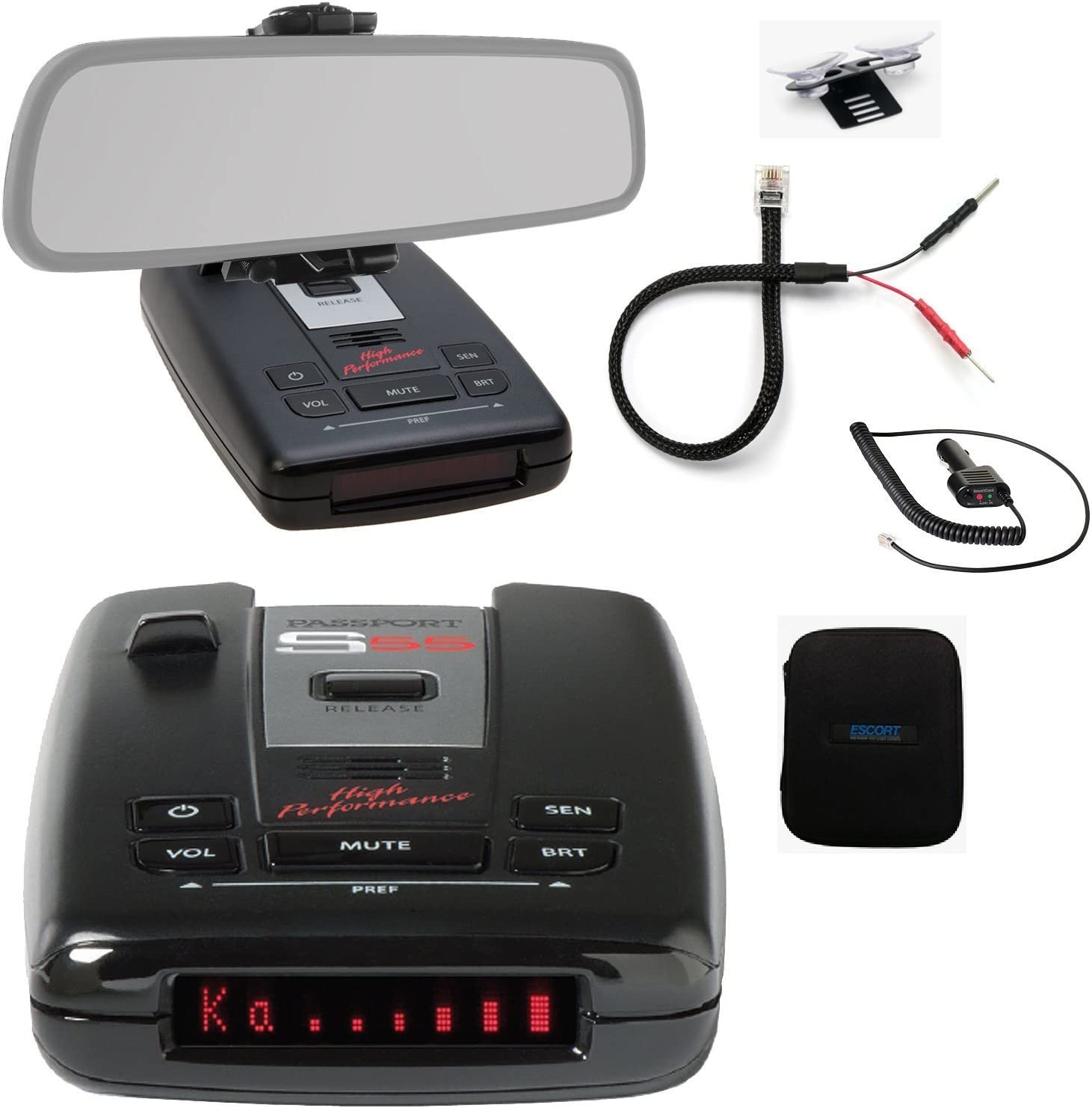 AccessoryBasics Car Dashboard Platform Beanbag & Suction Cup Mount ...