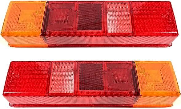 2x Lichtscheibe Heckleuchte Links Rechts Glas Rückleuchtenglas Rückleuchten Auto
