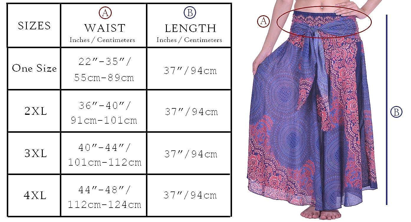 7fb89c44beb Lofbaz Women s Long Bohemian Maxi Skirt Hippie Gypsy Boho Dress at Amazon  Women s Clothing store